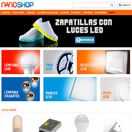 Nano shop - Diseño Mercado Shops