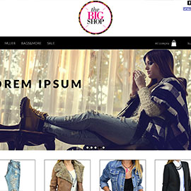The big shop - Diseño MercadoShops